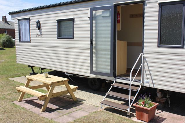 Static caravans for hire